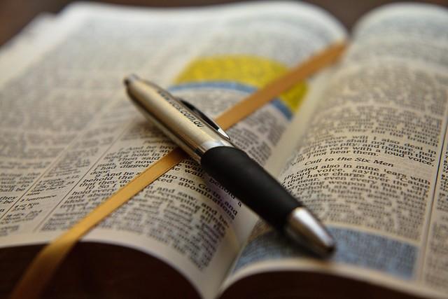 Bible w pen