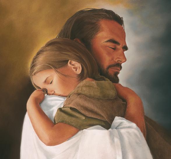 Hug from Jesus